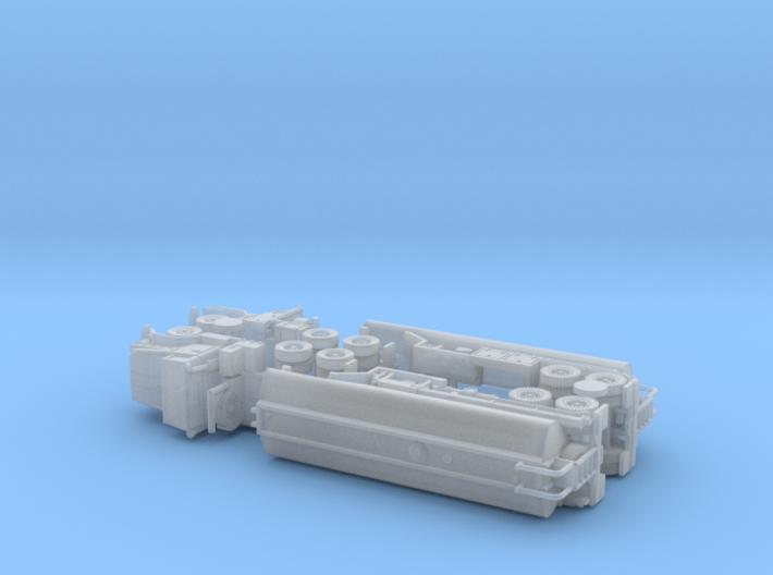 M931 Tractor w. M969 Tanktrailer 1/200 3d printed