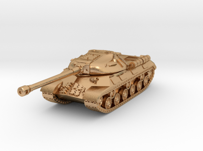 Tank - IS-3 / Object 703 - size Large 3d printed