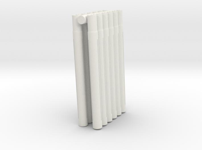 Expandable Barrel Lap: Long Version (12 Pack) 3d printed