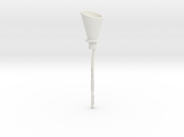 Transmission funnel 3d printed