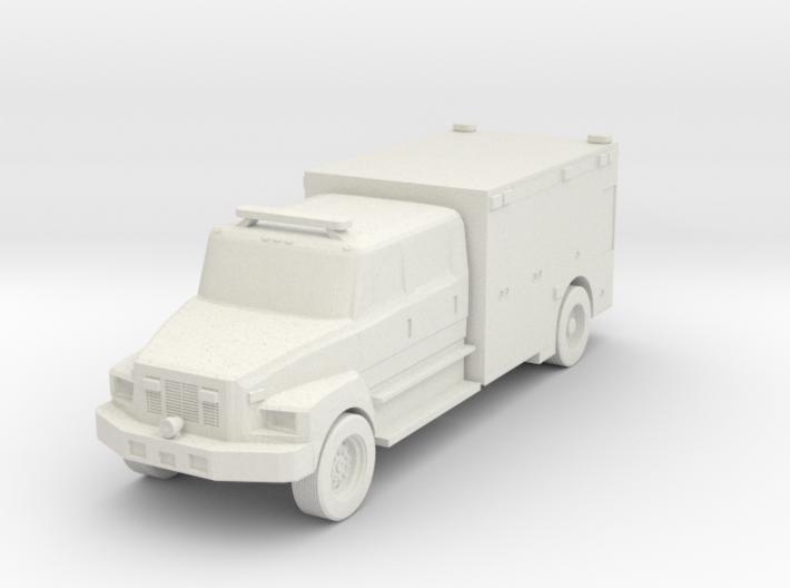 Freightliner Ambulance 2020 - HOscale 3d printed