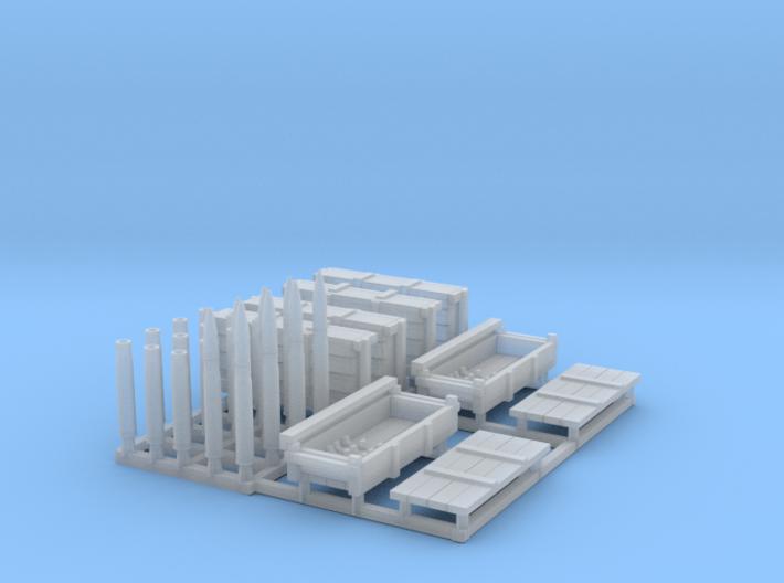 Tiger1 Ammunition Set 1/48 scale 3d printed