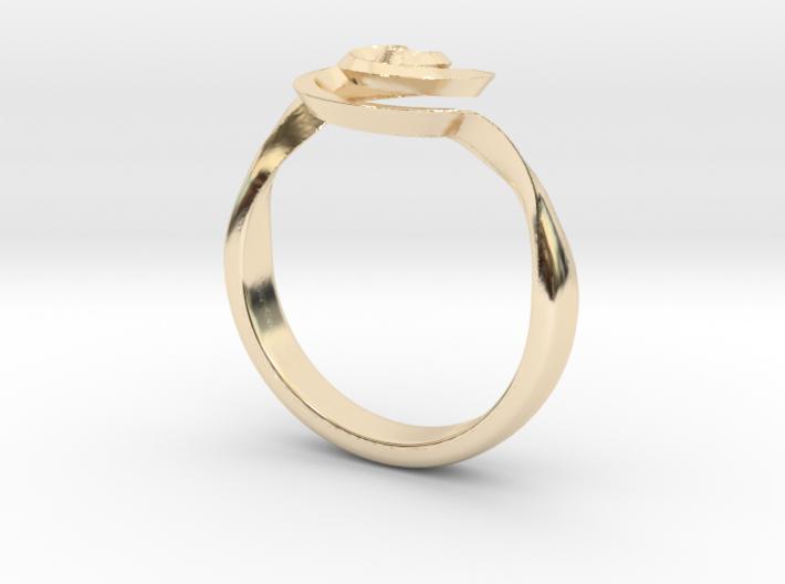 SpiralRing 3d printed