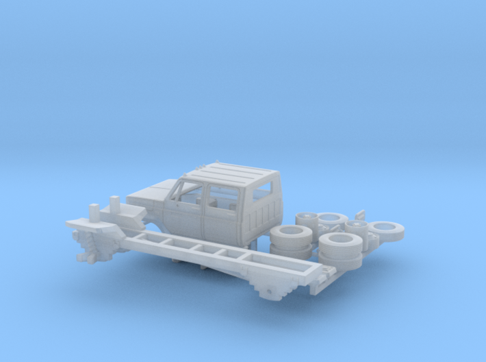 GMC/Chevrolet C 6000 4 Door Kit 1-87 HO Scale 3d printed