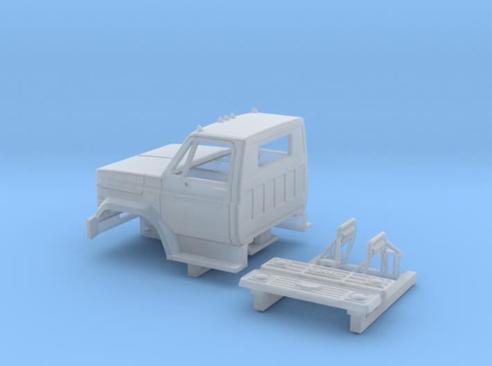 GMC/Chevrolet C 6000 2 Door Cab Kit 1-87 HO Scale 3d printed