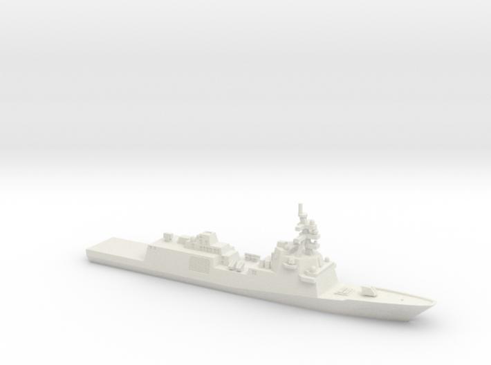 Constellation-class Frigate, 1/2400 3d printed