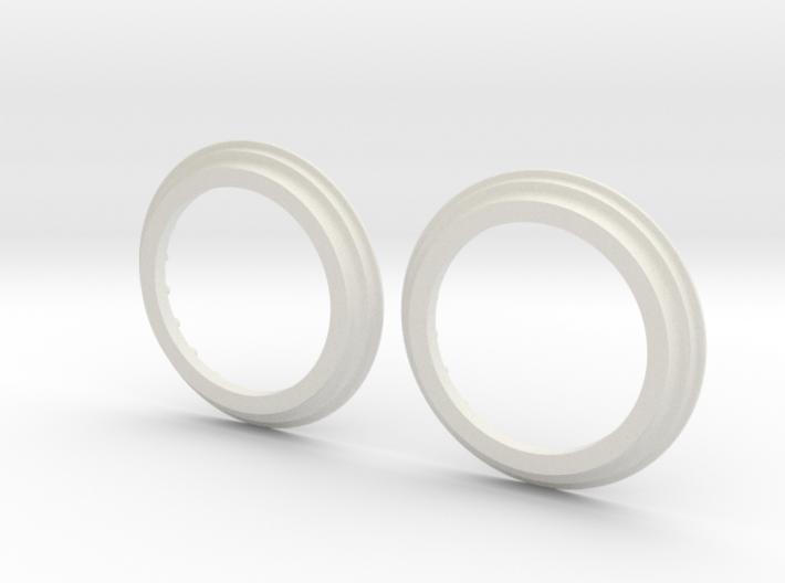 DE Ring Pair 3d printed