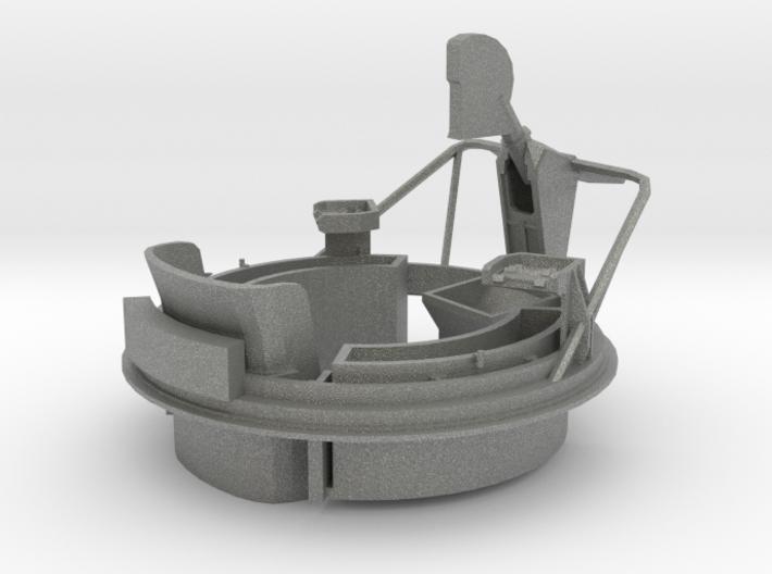 1/29 USN PT Boat 109 Fore Turret MG Mount 3d printed