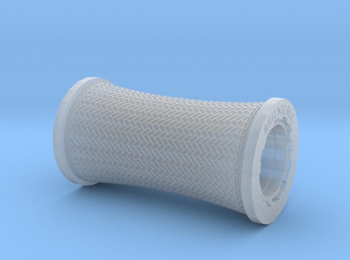 All-in-1 Roller Aehrenverband - konvex (N 1:160) 3d printed