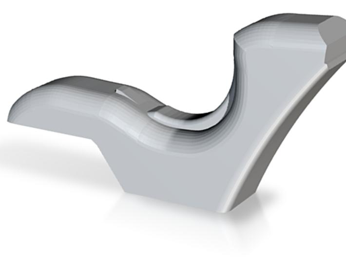 cariflex Curve Section 3d printed