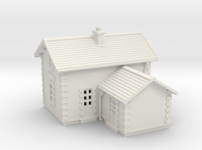 1-220 Crossing Guard Small House 3d printed