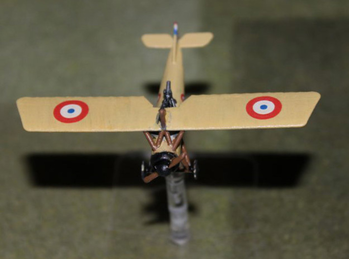Morane-Saulnier Type P (French MoS.21, multiscale) 3d printed Photo and paint job courtesy BobP at wingsofwar.org