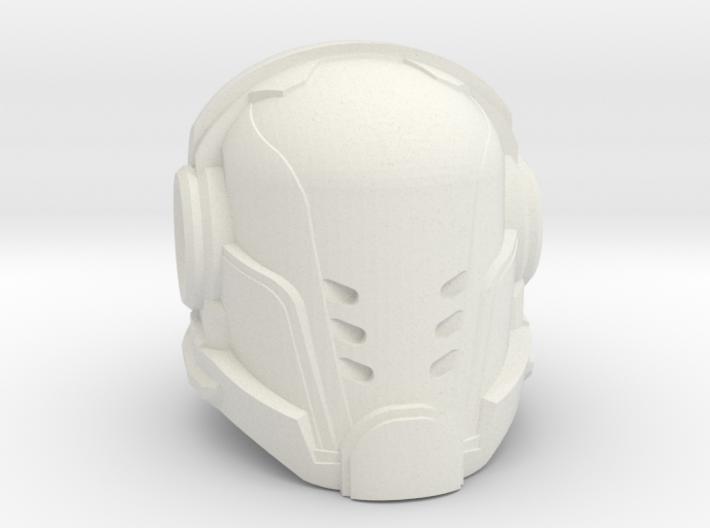 Paladin helmet 40mm High 3d printed