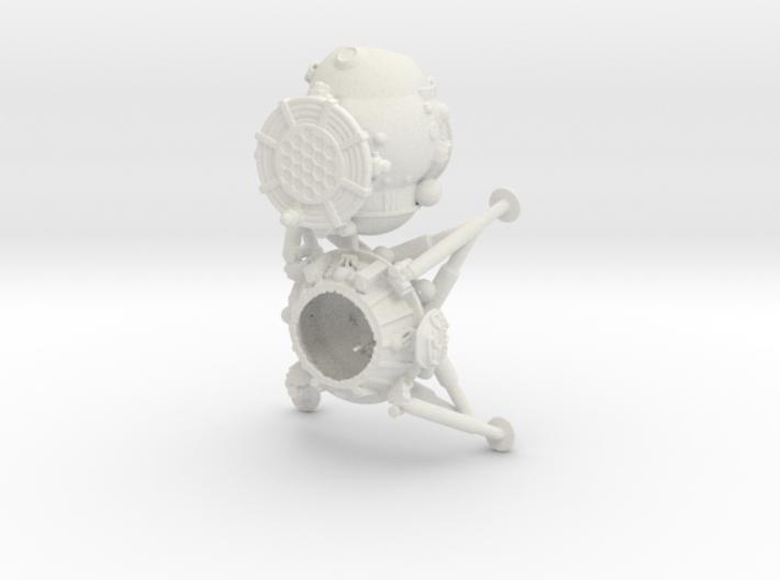1/100 LK lander 3d printed