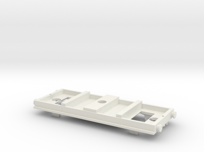 TOMY-Trackmaster Small Coach Conversion Base 3d printed