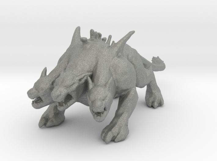 GOW Cerberus miniature model monster fantasy dnd 3d printed