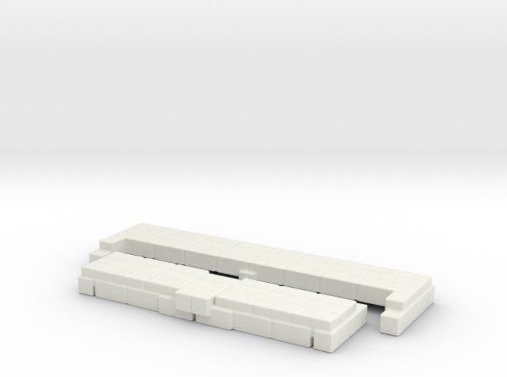 Brick Base for Snake Mountain Bone Throne 3d printed
