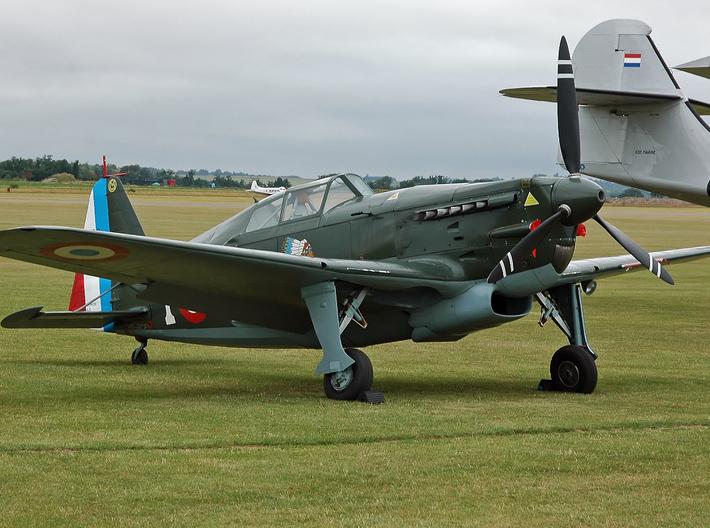 Nameplate Morane Saulnier 406C-1 3d printed