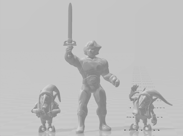 Evil Gnomes miniatures set fantasy game models dnd 3d printed