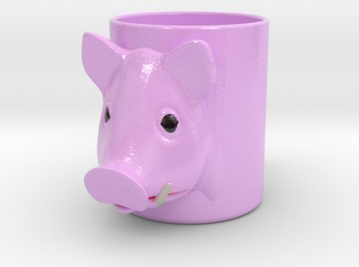 Pork Cofee Cup 3d printed