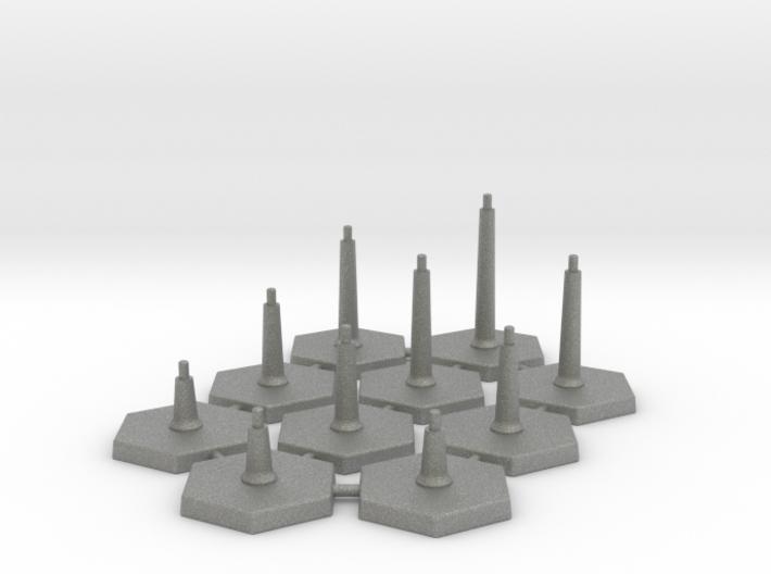 FlightStands - Set of 10. 3d printed
