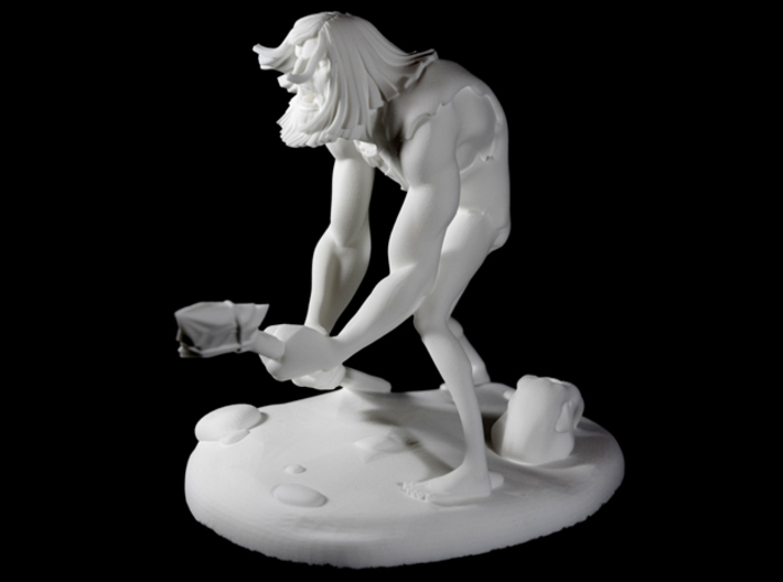 TheCaveman (Large) 3d printed 8 in. Turn Table