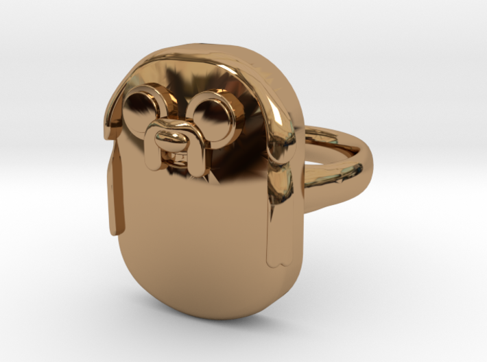 Jake The Dog Ring (Large) 3d printed