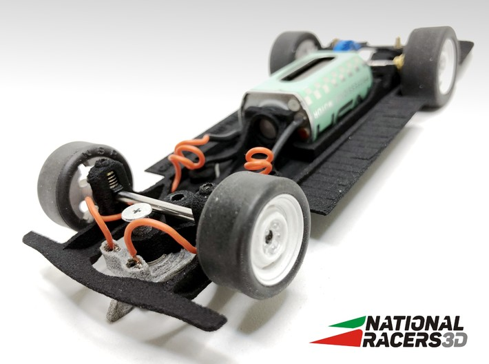 Chassis - CARRERA Ford Thunderbid (In-AiO) 3d printed