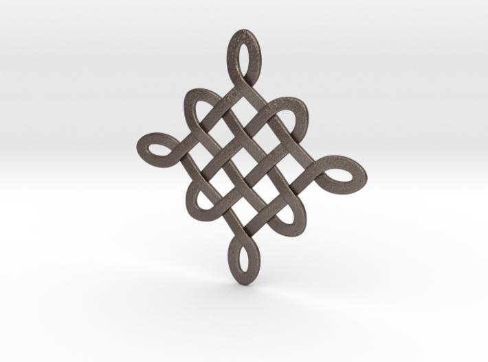 Celtic Woven Diamond pattern 3d printed