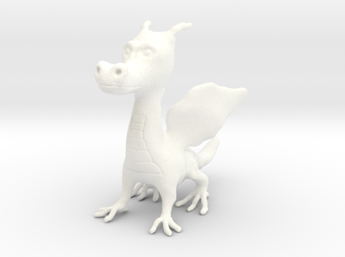 Young Dragon Figurine 3d printed