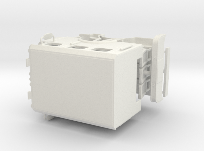 1/64 E-One Typhoon Flat Roof Cab 3d printed