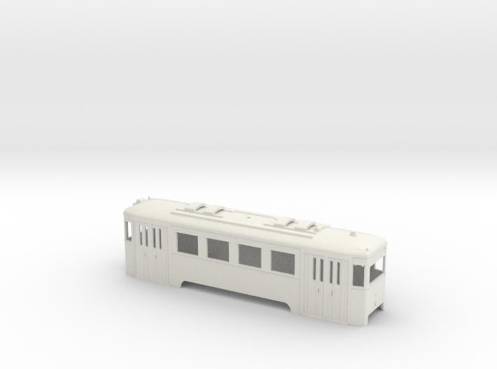 N1 Wiener Stadtbahn Triebwagen 3d printed