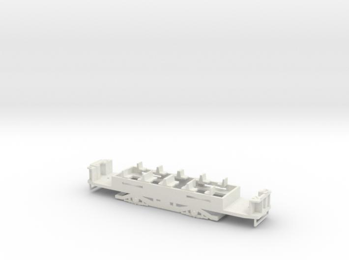 N1 Fahrgestell für einen Hallingmotor/Hallingräder 3d printed