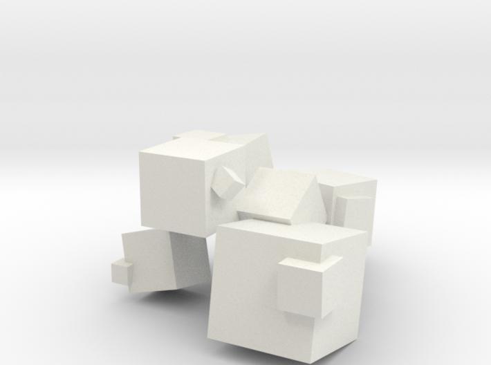 Cubes 3d printed