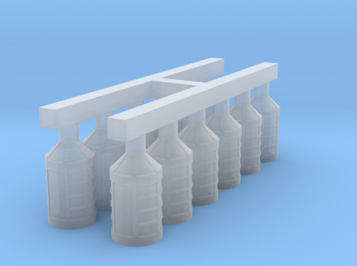 1/96 Lanterns for 18th and 19th Century Ships 3d printed