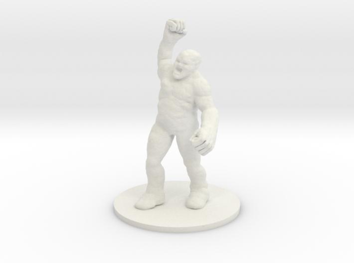 Clay Golem 3d printed