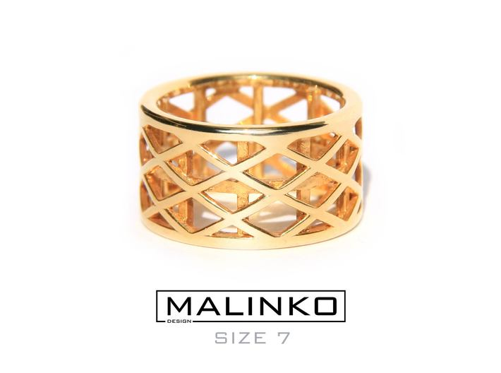 Archi Ring Size 7 (17.3 mm) 3d printed Add a caption...