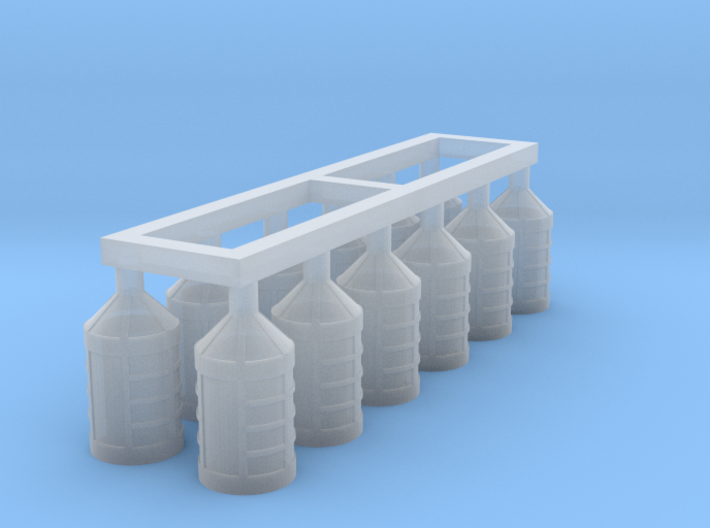 1/72 Lanterns for 18th and 19th Century Ships 3d printed