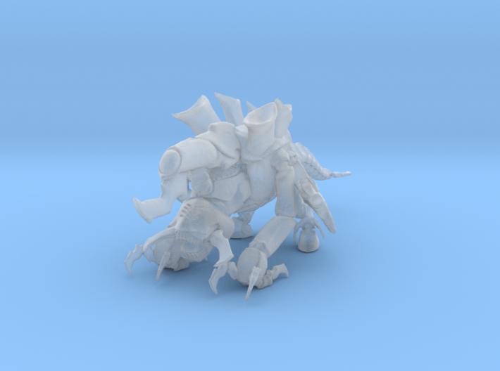 Exodon 01 Offen Meter 3d printed