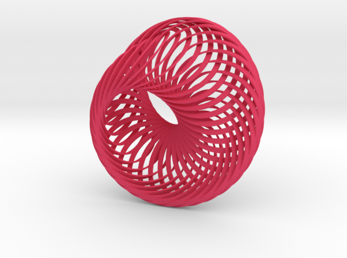 Intersecting Mobius Strips 2 3d printed