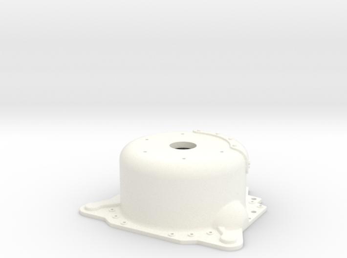 "1/8 Lenco 7.5"" Dp Bellhousing (With Starter Mnt) 3d printed"