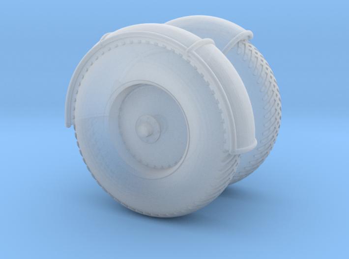 07de-Wheels 3d printed