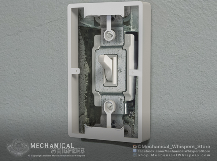 Philips Hue Dimmer Switch Spacer Plate (US Toggle) 3d printed