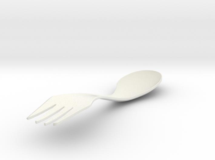 sporknife 3d printed Lefty Spork!