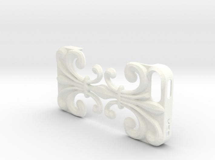 iPhone SE/5/5s DIY Case - Floria 3d printed