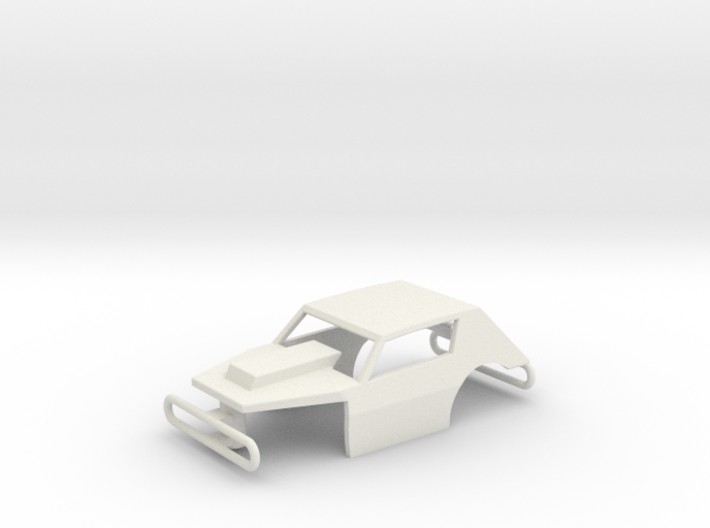 HO Scale Dirt Modified Body 3d printed
