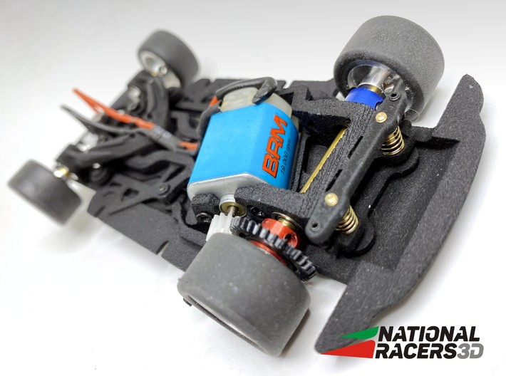 Chassis BRM FIAT ABARTH 1000 TC (AiO-Aw) 3d printed