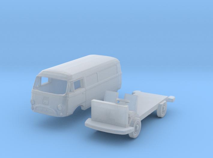 Tempo Matador E Kastenwagen (N 1:160) 3d printed
