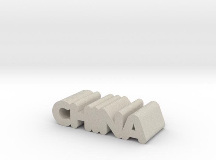 China 3d printed