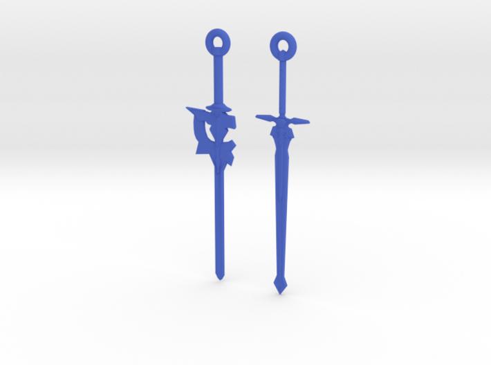 Dual Kirito Swords 3d printed